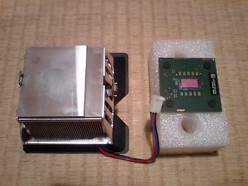 SoketA最速!貴重品!AthlonXP 3200+ CPUクーラーセット