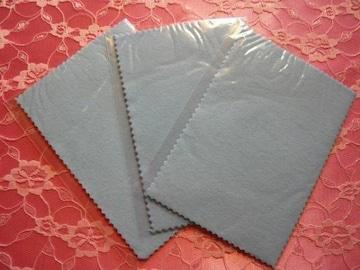 シルバークロス3枚セット6(郵便送料込)シルバー磨き貴金属
