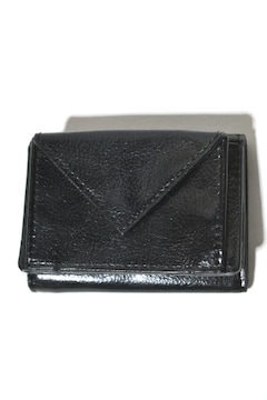 新品 グローバルワーク ミニウォレット 三つ折り財布 ブラック