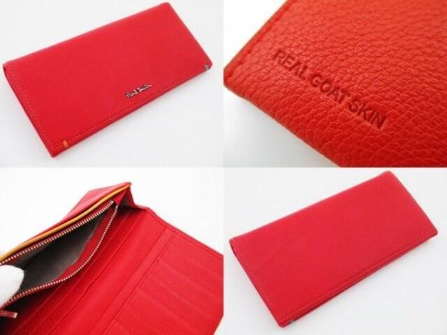 2点限り☆新品 ポールスミス カラーポップゴート 長財布 n116 < ブランドの