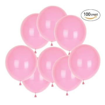 風船 10インチ バルーン 飾り付け ピンク