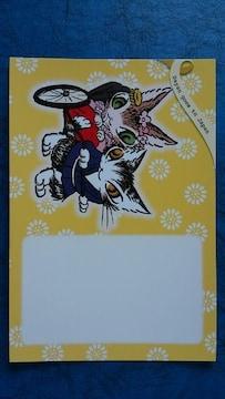 わちふぃーるど 世界切手まつり スタンプショウ ポストカード2種類 2枚
