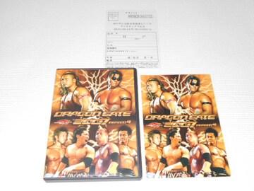 DVD★DRAGON GATE 2007 season.4 ドラゴンゲート プロレス