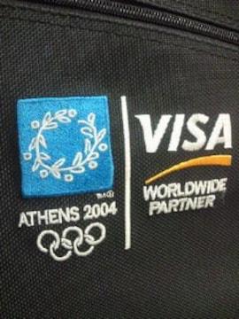 オリンピック VISA 限定 リュックサック ショルダーバッグ 手提げ BAG ブラック
