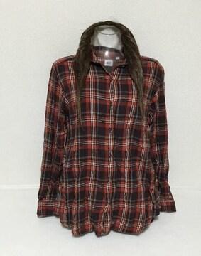 #UNIQLOチェックシャツ☆XL