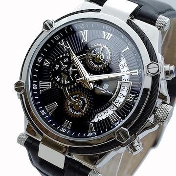 サルバトーレマーラ クォーツ 腕時計 メンズ SM18102-SSBK