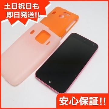 ●安心保証●美品●F-03F Disney Mobile ピンク●白ロム