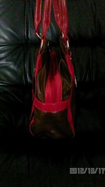新品タグ付☆ヴェールダンス2トーン鞄 < ブランドの