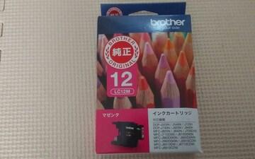 インクカートリッジ ピンク brother LC12M 新品