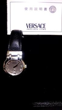 良品綺麗 正規ヴェルサーチスモセコ レディース時計