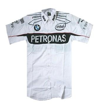 1セール! BMW PETRONASロゴ  シャツ XL f206