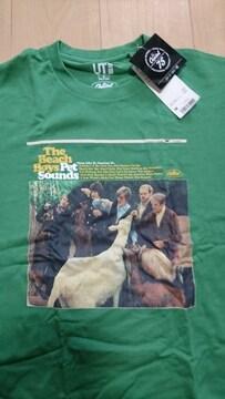 未使用Tシャツ!! ユニクロ ビーチ・ボーイズ / サイズM / カラー グリーン タグあり