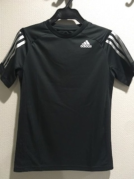 adidas アディダス キッズ半袖Tシャツ スポーツウエア150 クライマクール