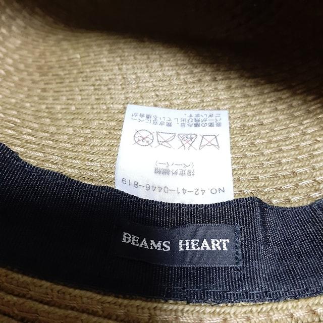 BEAMS ビームス 麦わら 帽子 < ブランドの