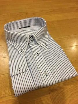 MARIO ESPERANZA ビジネスストライプYシャツ  size8LB  4XL  9