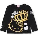 新品BABYDOLL☆120 ハローキティ ロンT 黒 長袖Tシャツ ベビードール