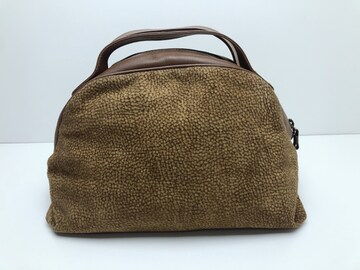 F200 美品★ ボルボネーゼ redwall PATENTED ハンドバッグ