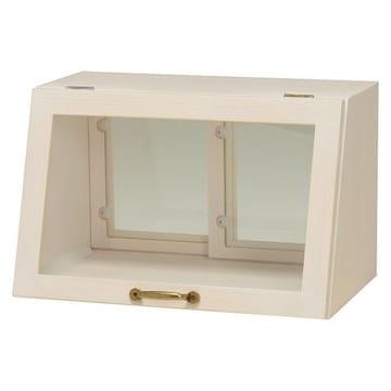 カウンター上ガラスケース(ウォッシュホワイト) MUD-6065WS
