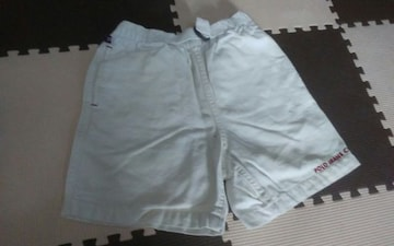 POLO JEANS CO RALPH LAUREN 110 白 短パンツ