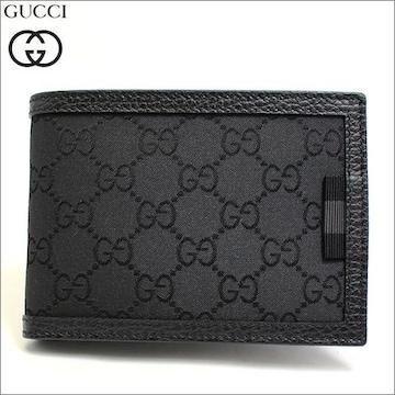 GUCCI 292534-g1xwn-8615 二つ折り財布 ブラック