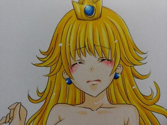 イラスト ピーチ 姫