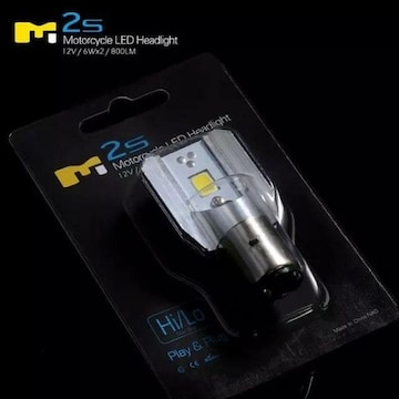 LEDヘッドライトバルブ H4BS  BA20D 6W 800LM 6000K