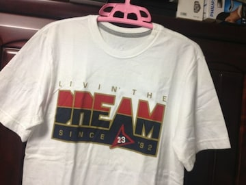 nike jordan live'n the DREAM Tシャツ