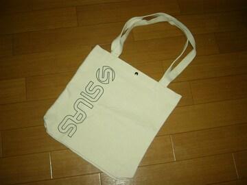 新品 SILAS サイラス トートバッグ キャンバス 鞄 バッグ ロゴ