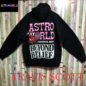 Travis Scott Astroworld Festival Run Beyond Belief Hoodie