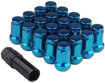 【新品】スチール製 ホイールロックナット 20個 M12 x P1.25