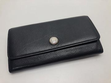 D278美品 ブルガリ モネーテ 二つ折り 長財布 メンズ レディース