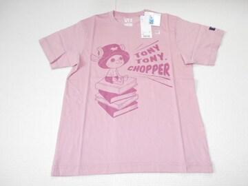 UNIQLO ONE PIECE チョッパー 半袖Tシャツ ピンク XSサイズ