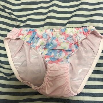 レディース フルバック ショーツ Mサイズ ピンク 柄