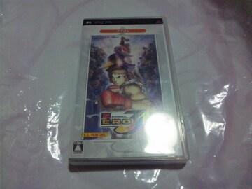 【PSP】ストリートファイターZERO3ダブルアッパー(↑↑)