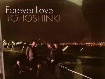 激安!超レア!☆東方神起/ForeverLove☆初回盤/CD+DVD☆超美品!