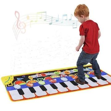 脳の発達・運動機能・音楽センスなどを磨くマットピアノ