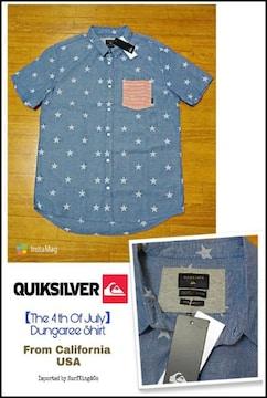 QUIKSILVER最新ダンガリーシャツ★本物USAモデル!ワケ有り大特価!