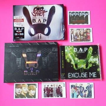 B.A.P★8点★ONE SHOT [CD+DVD]<初回限定盤>&フオトカード5枚等 ヨンジェ