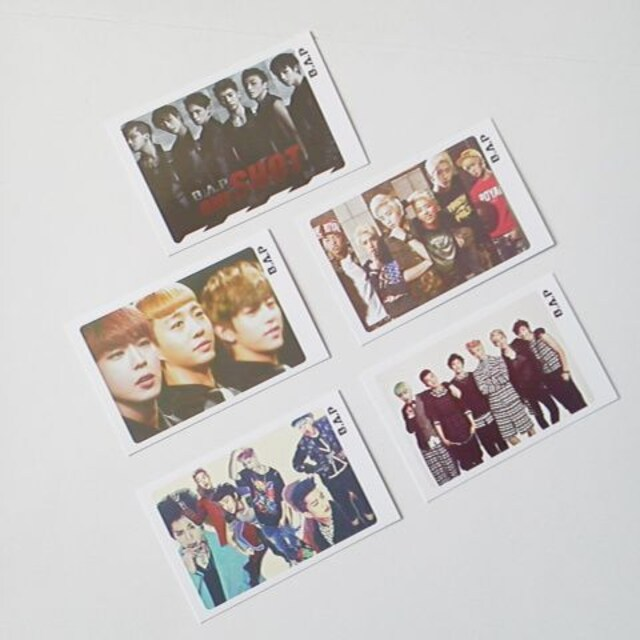 B.A.P★8点★ONE SHOT [CD+DVD]<初回限定盤>&フオトカード5枚等 ヨンジェ < タレントグッズの