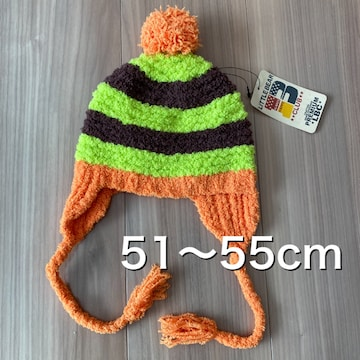 新品タグ付き51〜55cm ニット帽 帽子 LITTLEBEARCLUB