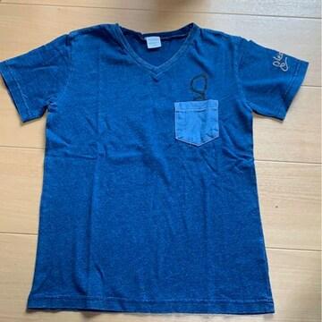 スキップランド!140センチ!デニムTシャツ新品