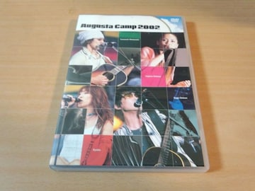 DVD「Augusta Camp 2002」杏子 山崎まさよし スガシカオ