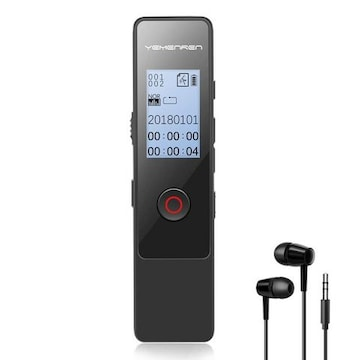 ボイスレコーダー ICレコーダー 録音機大容量&高音質8GB
