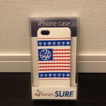 即決 新品 未開封 24karats SURF iPhoneケース