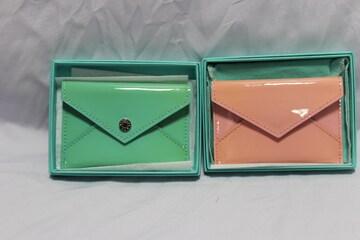 Tiffany&Co.☆ティファニー 名刺ケース コインケース ペアセット 中古鑑定済商品