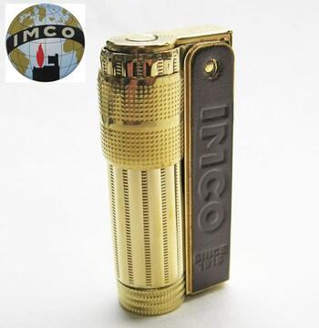 IMCO イムコスーパー 革巻き 真鍮製 オイルライター