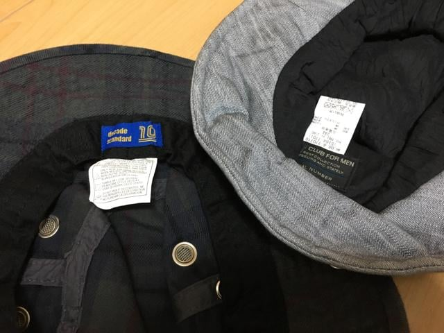 ハット 2個セット ニコル ディケイドスタンダード < 男性ファッションの