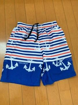 ボーダーマリン★水着*海水パンツ?150