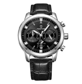 腕時計カジュアル レーシング黒R