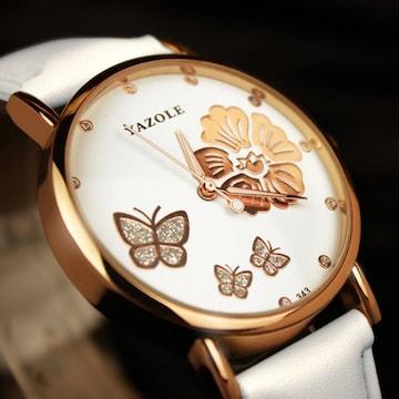 タイムセール2480円→1780円【お洒落】腕時計 メンズ 花柄